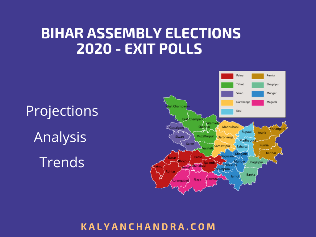 bihar 2020 assembly elections exit poll analysis trends